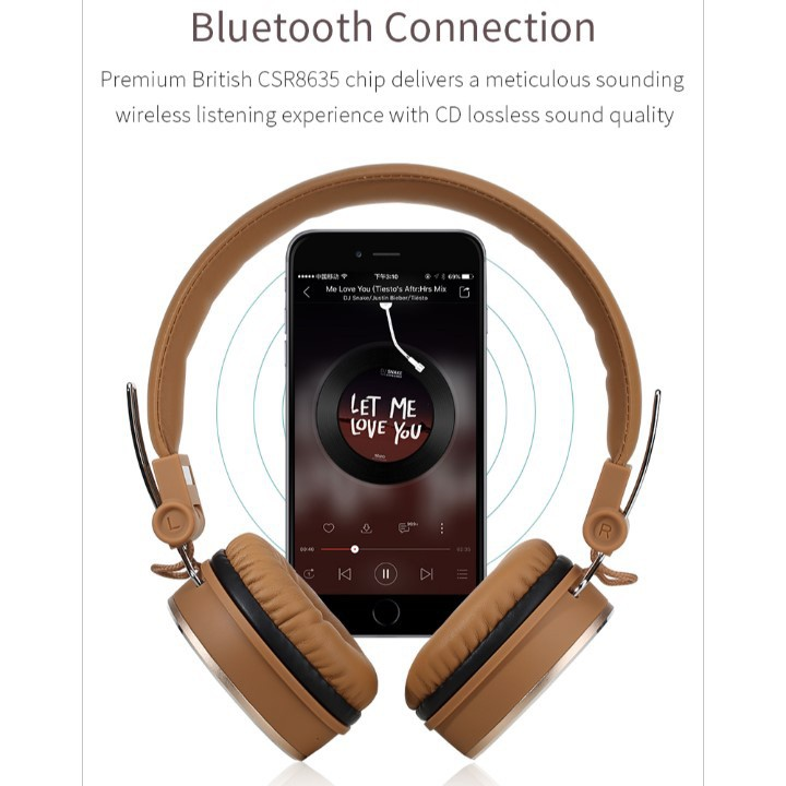 Rockspace HB20 Bluetooth Headphone